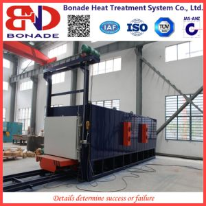 400kw Air Circulation Bogie Hearth Furnaces for Heat Treatment pictures & photos