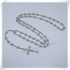 Cross Beads Rosaries/Religious Beads Rosary/Catholic Rosary/Metal Beads Rosaries (IO-cr398) pictures & photos