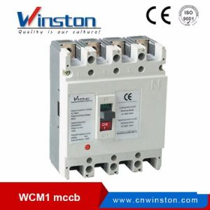 Wcm1 Series Solar Energy MCCB Moulded Cade Circuit Breaker pictures & photos