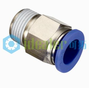 High Quality Pneumatic Fitting Brass Fitting with Ce (POC1/4-N02) pictures & photos