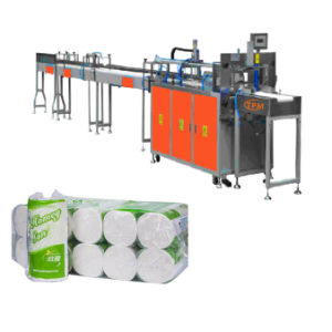 Automatic 2 Rolls Toilet Paper Tissue Packing Machine pictures & photos