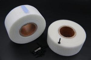 Glass Fiber Tape/Adhesive Jointing Tape for Gypsum Board/Fiber Glass Mesh Tape 50mm*75m/Shandong Top Building pictures & photos