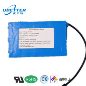 Customised Lithium Ion 12V 24ah Battery for Solar LED Light pictures & photos
