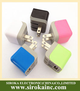 Universal Single USB Mobile Phone Travel Charger for iPhone pictures & photos