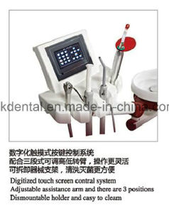 Full Touch Screen Controlled Luxury Dental Chair for Euro Market pictures & photos