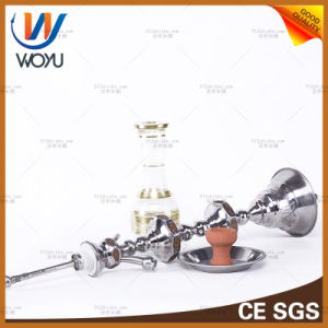 Egypt Patch Hookah Rivet Gourd Two Manual Welding Hookah Water Tobacco Glass Smoking Pipe Glass Spoon Pipe Glass Smoking Pipe Shisha Hookah Water Pipe pictures & photos