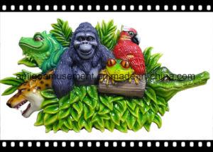 Cartoon Mushroom Party Decoration Fiberglass Toy Amusement Park Model Set pictures & photos