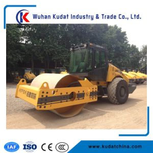Lss214-3 Single Drum Road Roller with Sheep Foot pictures & photos