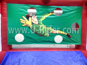Inflatable Football Tunnel football pitch football goal for Children pictures & photos