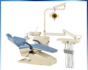 Hard Leather Computer Controlled Dental Unit Chair pictures & photos