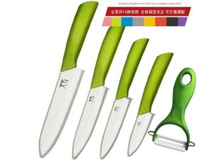 Wholesale Stainless Steel Sharpest Chef Knife with Acrylic Holder pictures & photos