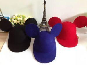 Hat for Child, Wool Kids Cap, Peak Hat pictures & photos