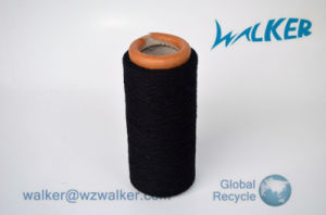 Black Recycled Cotton Yarn for 12 Guage Cotton Glove pictures & photos