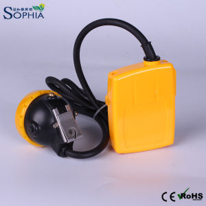 5000mAh Rechargeable Exproof 3W LED Mining Lamp with IP68 pictures & photos