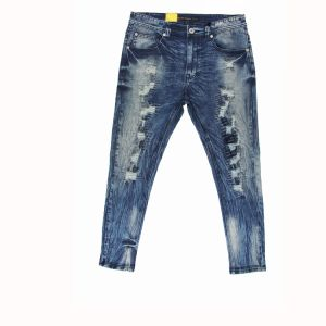 Men′s Fashion High Stardard Wshing Jeans (MYB02) pictures & photos