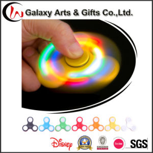 100% Brand New and High Quality LED Colorful Lighting Hand Spinner Fidget Finger Fingertip Gyro