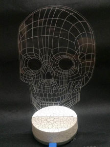 LED Night Light 3D Illusion Table Lighting Lamp pictures & photos