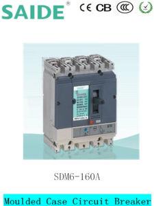 Sdm6 Low Voltage Moulded Case Circuit Breaker MCCB pictures & photos