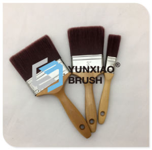 Filament Paint Brush with Wood Handle Paint Brush pictures & photos