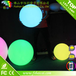 Wholesale Clear Plastic Ball LED Round Ball Outdoor Light