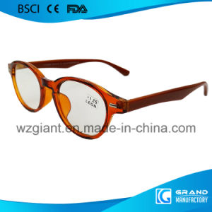 Wholesale Cheap Thin Arm Popular Italian Colorful Zebra Reading Glasses pictures & photos