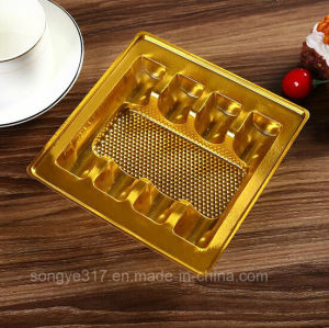 PVC Gold-Plated Cosmetic Bliater Tary pictures & photos