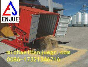 20FT 30FT 40FT 45FT Hydraulic Container Tilter Container Tilting Container Loaders Unloaders pictures & photos