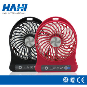 Colorful Mini Stand Table Fan Air Cooling Plastic Fan pictures & photos