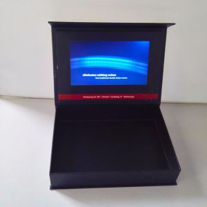 Paper Box Shape Video Greeting Card LCD Screen Video Brochure 4.3inch 5inch7 Inch pictures & photos