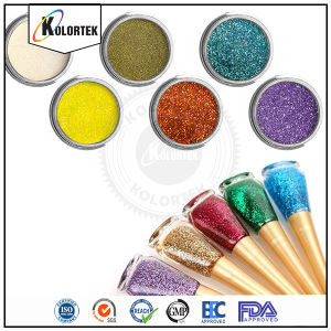 Nail Art Glitter Flakes Powder, Colorful Glitter for Sale pictures & photos