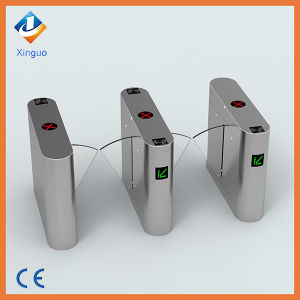 Access Control System Flap Barriers, RFID and Fingerprint Function Barrier Gate pictures & photos