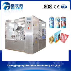 Full Automatic Stand up Bag Filling and Sealing Machine Manufacturer pictures & photos