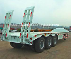 CIMC cimc low bed semi trailer 80t pictures & photos