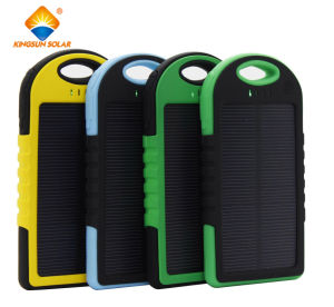 USB Power Bank Waterproof 5000mAh/12000mAh Mobile Phone Solar Charger pictures & photos