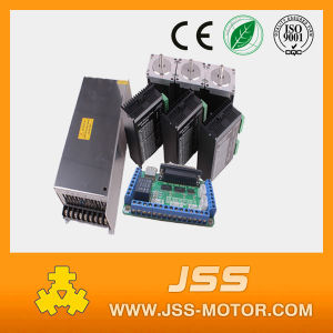 CNC Router Stepper Motor Kits NEMA34, 3 Axis Mach3 Breakout Board From China pictures & photos