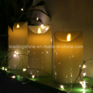 Pure Wax Remote Control Flameless Flickering Candle Light pictures & photos
