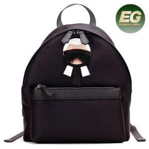 Hot New Style Fashion Girls Backpack Leather School Bags with Cute Accessories Emg4889 pictures & photos