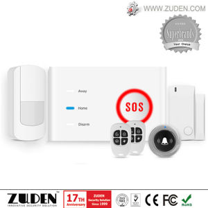 WiFi Wireless Home Security GSM Alarm with Push Notification pictures & photos