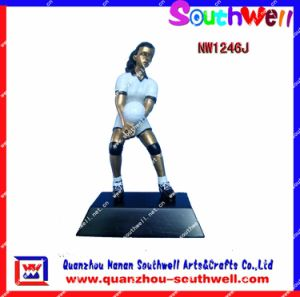 Polyresin Figurines, Resin Action Trophy (NW1246J)