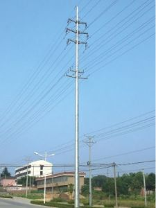 220kv Pylon Electric Line Suspension Transmission Tower