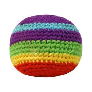 Hacky Sack, Kick Ball, Knitted Ball, Footbag pictures & photos