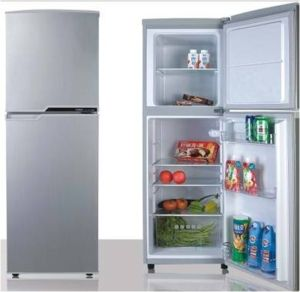 Double Door-up Freezer Fridge 138L pictures & photos