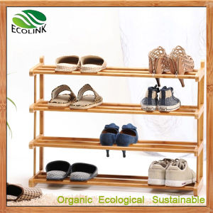 Bamboo Multi-Layers Shoes Rack Shoe Storage pictures & photos