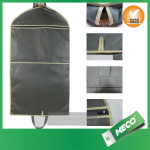 Wholesale Promotional Foldable Non Woven Suit Cover, Suit Garment Bag (MECO240) pictures & photos