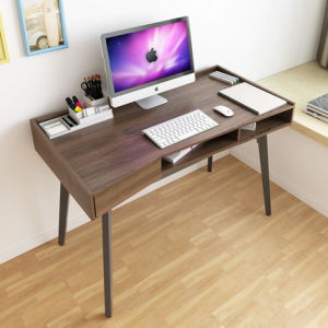 Traditional Walnut Wooden Desk in Home Furniture pictures & photos