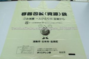 Transparent Plastic Bags Degradable Garbage Bags pictures & photos