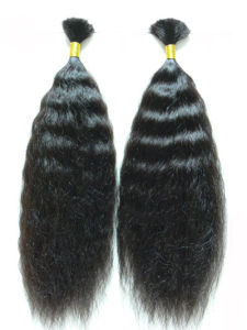 Wet and Wave Human Hair Yaki Hair Extension pictures & photos