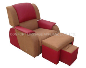 Foot Massage Sofa With PU Leather&Cloth (SF-PU) pictures & photos