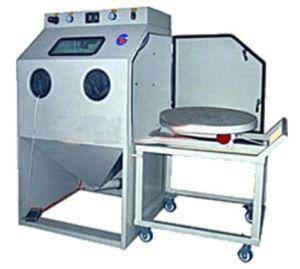 Cart-type Turntable Sand Blast Machine (TB-9080TA)