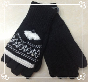Warm Fashion Knitted Gloves - Wf038